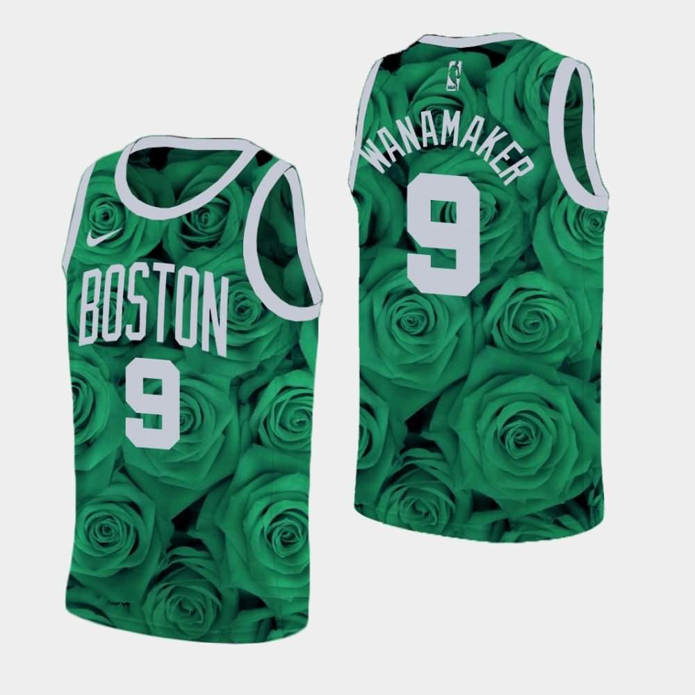 Boston Celtics #9 Bradley Wanamaker Association White Swingman Jersey
