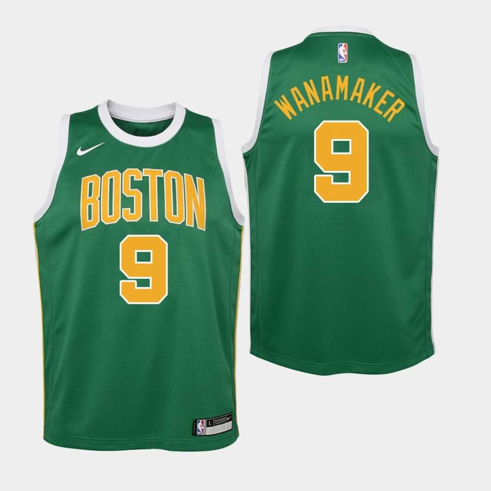 Boston Celtics #9 Bradley Wanamaker Icon Green Swingman Jersey